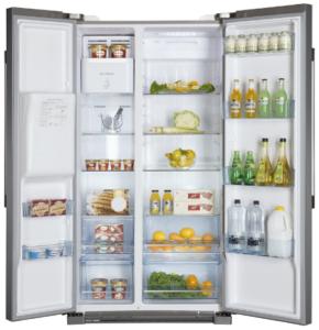 Test frigo Américain Haier HRF628IF6