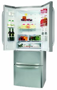Test frigo Américain Hotpoint E4D AA X C